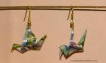 Crane Earrings - Traditional