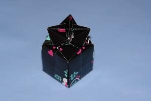 Origami Betthupferl Box - Black
