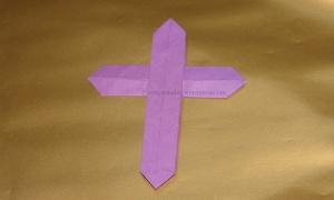 Origami Cross - Jared Needle