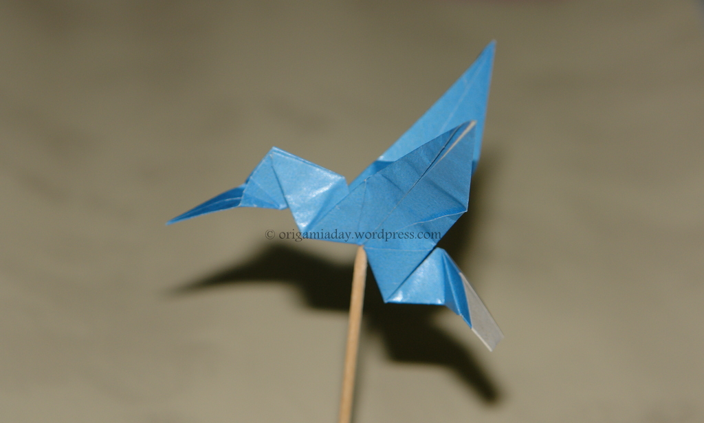 Origami Hummingbird Directions - photo#3