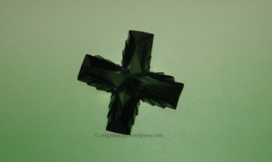 Origami Pleated Puffy Cross