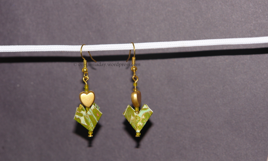 earrings | An Origami a Day - photo#15