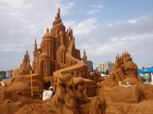 Sand Sculpture - The Little Mermaid