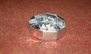Origami Enneagonal Box