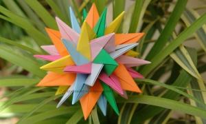 Origami TUVWXYZ Star