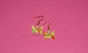 Origami Yellow Butterflies