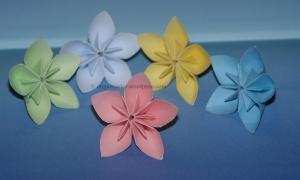 Origami Modular Flowers