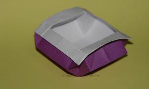 Origami Bonsai Vase - Side