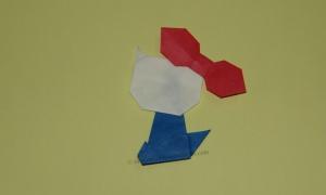Origami Hello Kitty