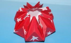 Origami Star Vase
