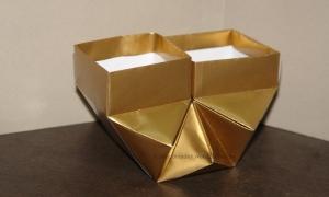 Origami Vase Duet