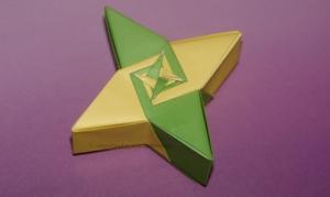Origami 4 Star Box