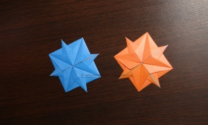 Origami Compass Roses