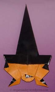 Origami Crooked Witch