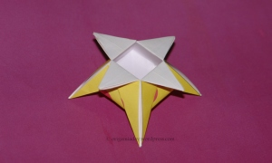 Origami Star Box with Stand