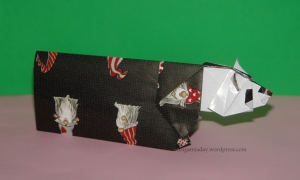 Origami Panda Card