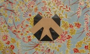Origami Panda Face