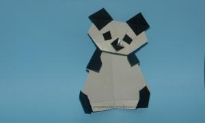 Origami Panda - Kunihiko Kasahara