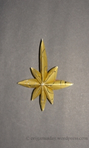 Origami Star of Bethlehem