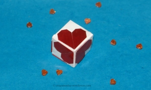 Origami Cube of Love