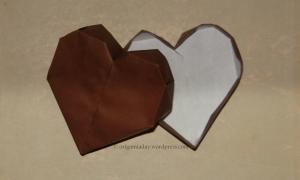 Origami Heart Box - Valentine