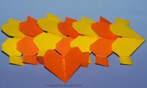 Origami Wreath Units